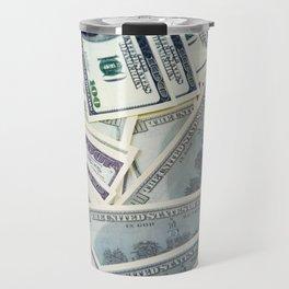 American money $100 banknotes Travel Mug