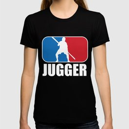 Jugger in Blue and Red NBA Gift  T-shirt