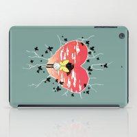 butterflies iPad Cases featuring Butterflies by Freeminds
