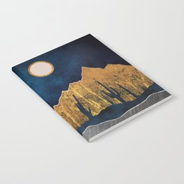 Midnight Desert Moon Notebook
