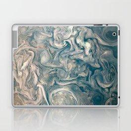 Jupiter Stormy Weather Watercolor Texture Laptop & iPad Skin