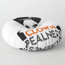 """""""Clown Realness"""" Bianca Del Rio, RuPaul's Drag Race Queen Floor Pillow"""