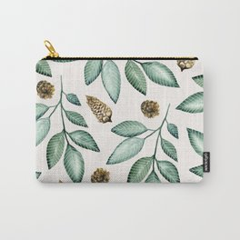 LEAVES AND PINEAPPLES Carry-All Pouch