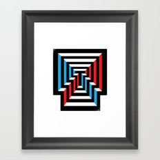 [T] Framed Art Print