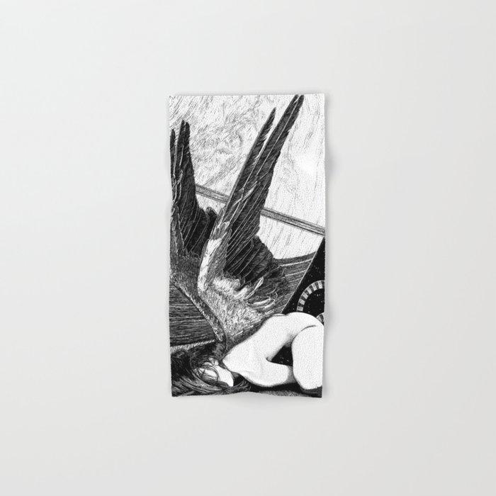 asc 638 - L'ange incarné (The earhtly angel) Hand & Bath Towel