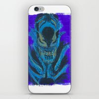 xenomorph iPhone & iPod Skins featuring Alien Xenomorph  by Dukesman