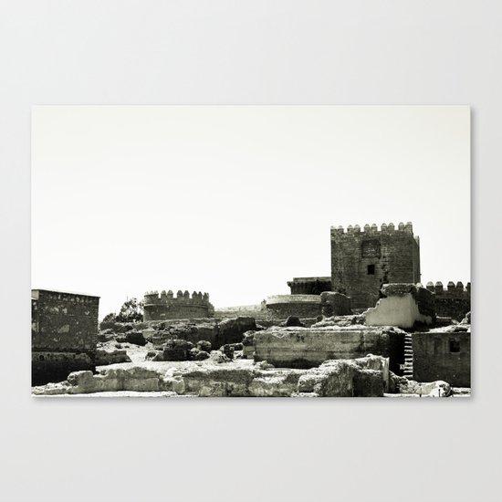 Castle ruins... Canvas Print