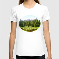 forrest T-shirts featuring Forest Green by IvanaW