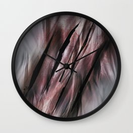 Feel the Rage Wall Clock