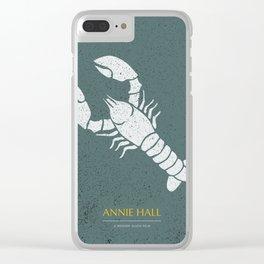 Annie Hall - Alternative Movie Poster Clear iPhone Case