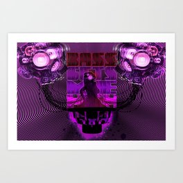 Bass gets me high Art Print