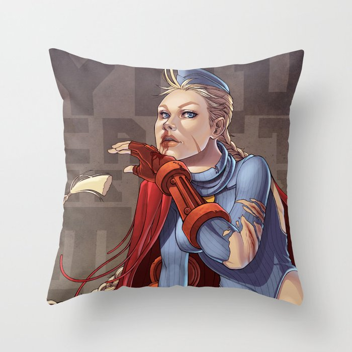 You Can't Escape My Sting Throw Pillow