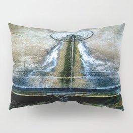 Fountain Bleu Pillow Sham