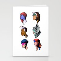 xmen Stationery Cards featuring spce girls by jason st paul