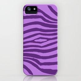 Animal Waves (Purple Mood) iPhone Case