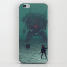 1920 - red wreck iPhone & iPod Skin