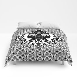 Detective's Damask Comforters