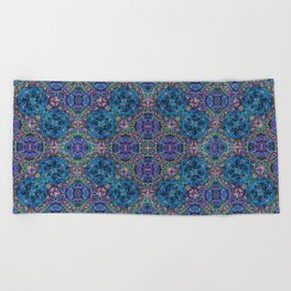 KLauf Mandala Pattern Beach Towel