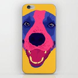 beagle - yellow iPhone Skin