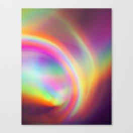 Where The Rainbow Ends Canvas Print