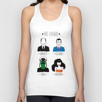 league Tank Tops featuring THE LEAGUE by kravic