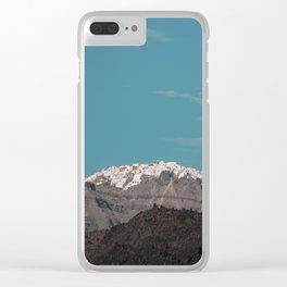 Santorini, Greece9 Clear iPhone Case