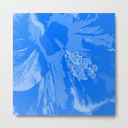 Intimate blue Metal Print