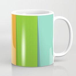Rainbow 3D Multi Color Stripes Coffee Mug