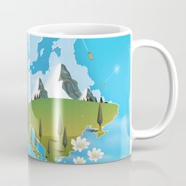 Europe Map Coffee Mug