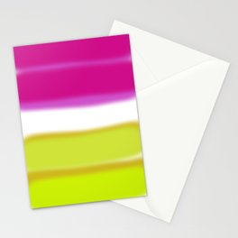 yellow and pink Stationery Cards
