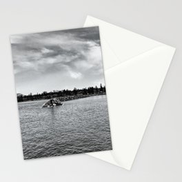 Rogers City shore Stationery Cards