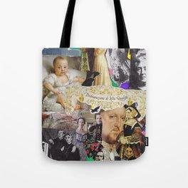 Art & History Moodboard Tote Bag