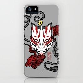 Kitsune Mask (without Kanji) iPhone Case