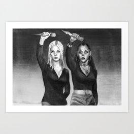 Slay The Patriarchy Art Print