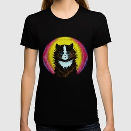 """Louis Wain's Cats """"Psychedelic Rainbow Cat"""" T-shirt"""