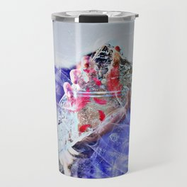 Cold Red Feathers by GEN Z Travel Mug