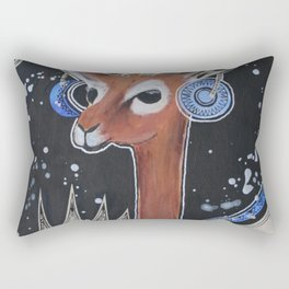 Space Bokkie Rectangular Pillow
