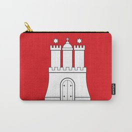 Flag of hamburg Carry-All Pouch