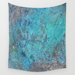 Patina Cast Iron rustic decor Wall Tapestry