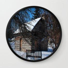 Peter Navarre Cabin IV Wall Clock