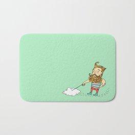 One man . One Cloud Bath Mat