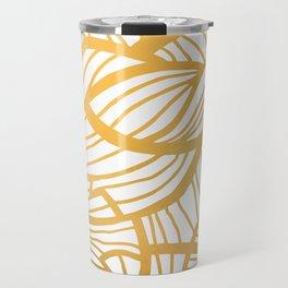 Golden Summer #abstract #gold #pattern Travel Mug