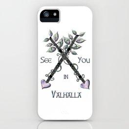 Valhalla iPhone Case