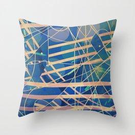 Spaghetti Straps Throw Pillow