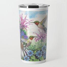 Hummingbird and Bergamot Travel Mug