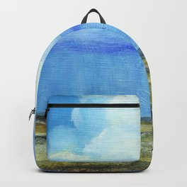 A Perfect Storm, Abstract Landscape Art Backpack