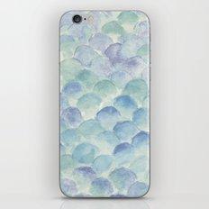green scales iPhone & iPod Skin