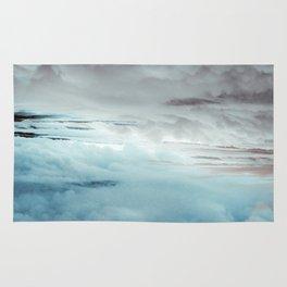 Glacier Painted Clouds Rug