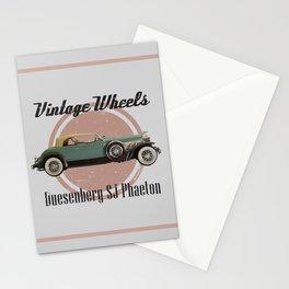 Vintage Wheels: Duesenberg SJ Phaeton Stationery Cards