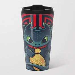 Maneki Dragon Metal Travel Mug